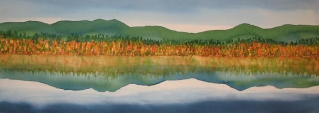Autumn, Mirror Lake