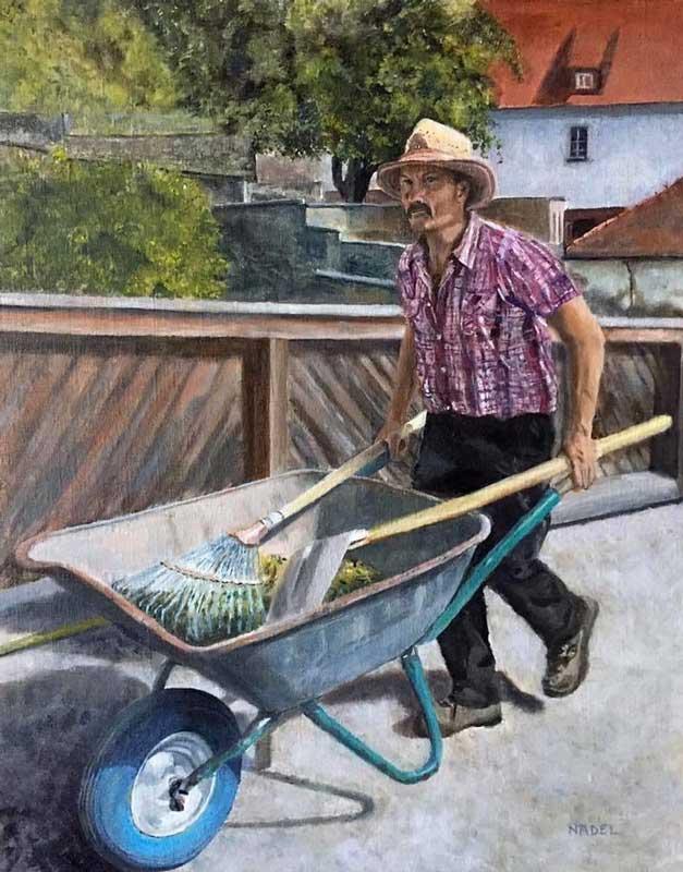 """The Gardener"" by Andrea Nadel"
