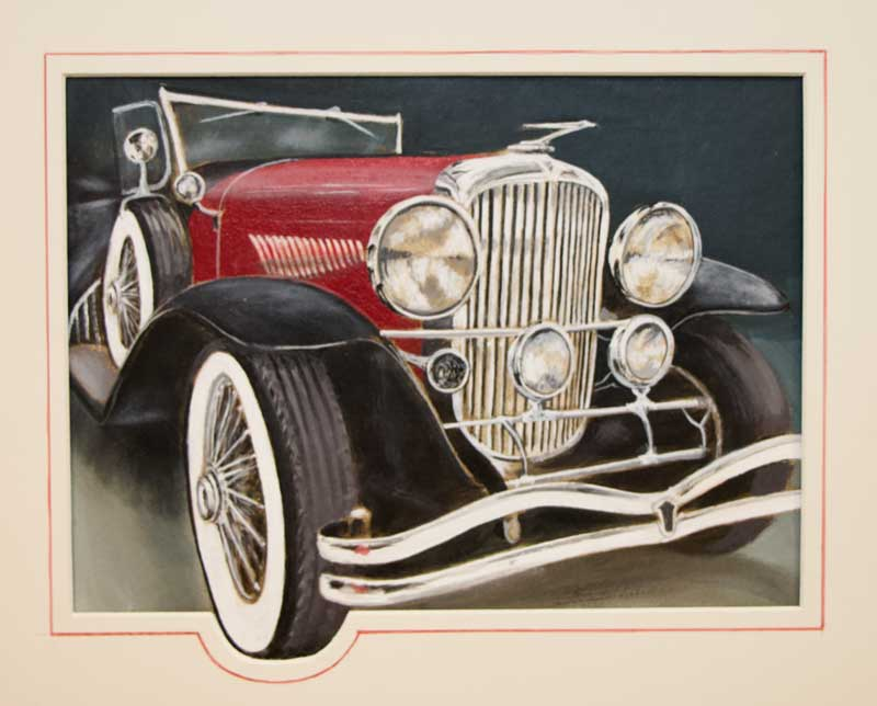 """""""30 Duesenberg"""" by Fred Smith"""