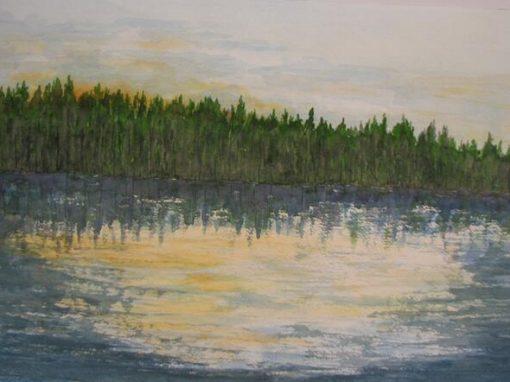 Dusk, Rollins Pond
