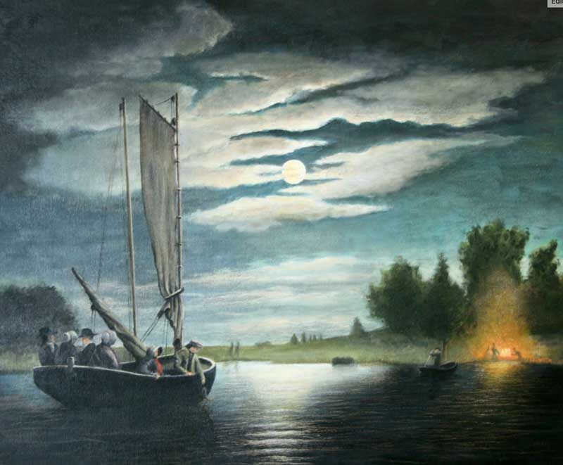 """""""Fishing on Hudson"""" by Fred Smith"""
