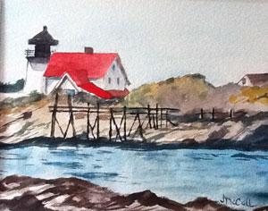 """Maine Harbor near Deer Isle"" by Joey McCall"