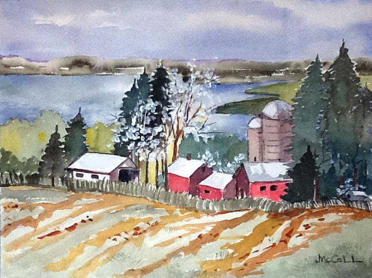 """""""Spring Comes to Canandaigua"""" by Joey McCall"""