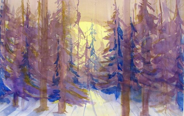 """Moon Rise"" by Doug Bloom"