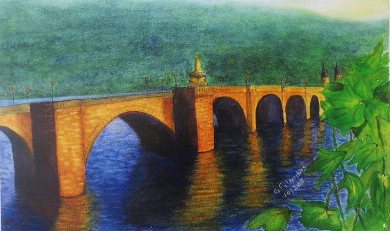 """Bridge""by Ginny Palumbos"