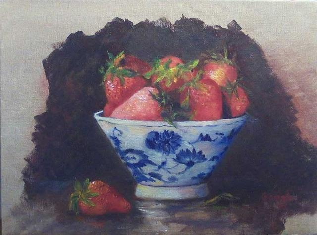 """Strawberries"" by Pat Gough"