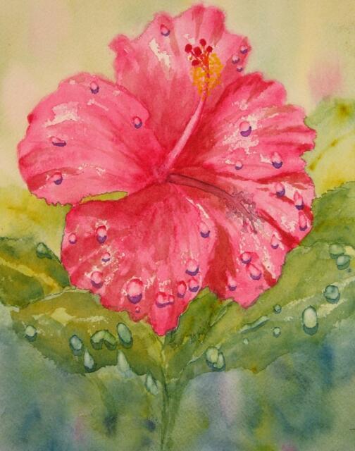 """Rain on Red"" by Doug Bloom"