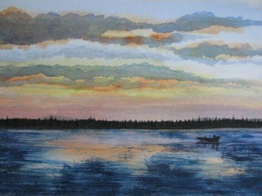 Sunset, Wellesley Island