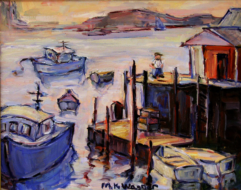 """""""Harbor View"""" by M. Kathleen Wagner"""