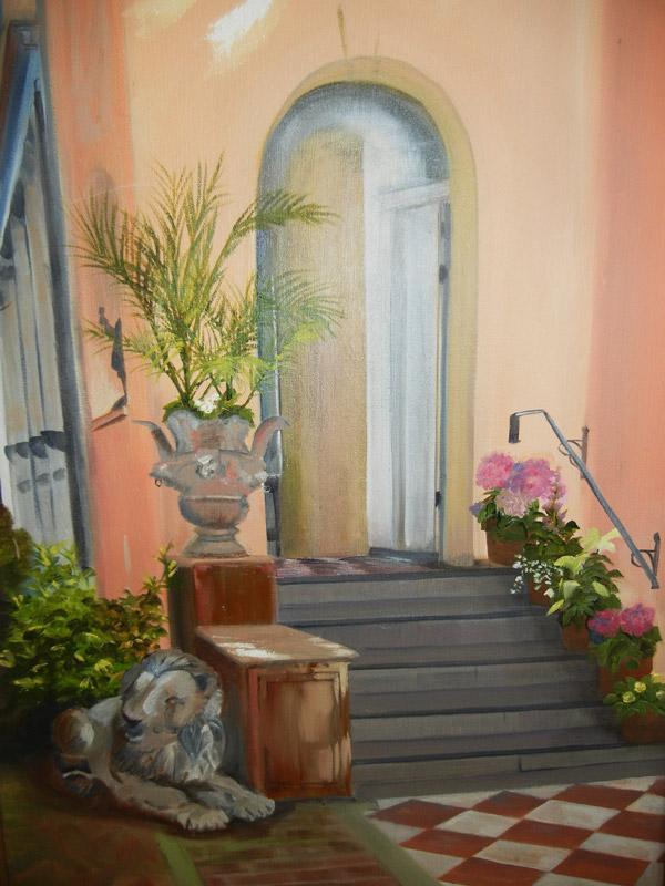 """""""Charleston Doorway"""" by Kathy Warren"""