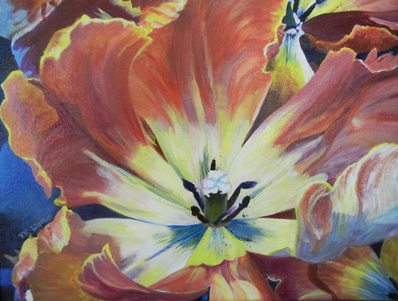 """Tulips Up Close"" by Kathy Warren"