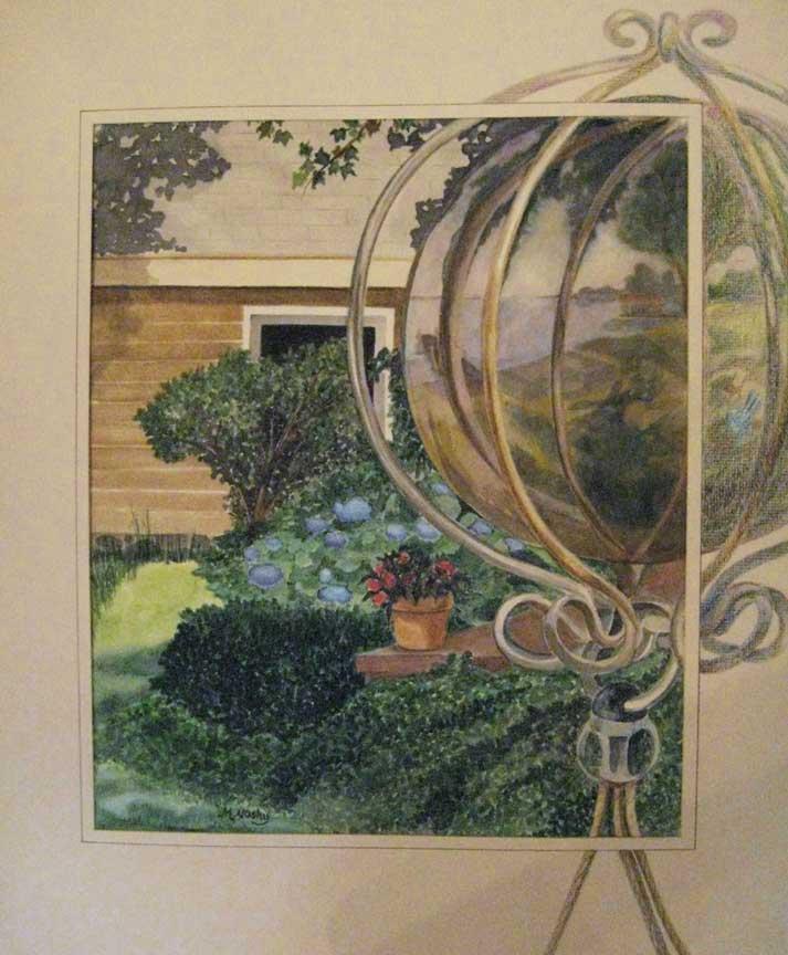 """Windchime Reflections"" by Marilyn Nosky"