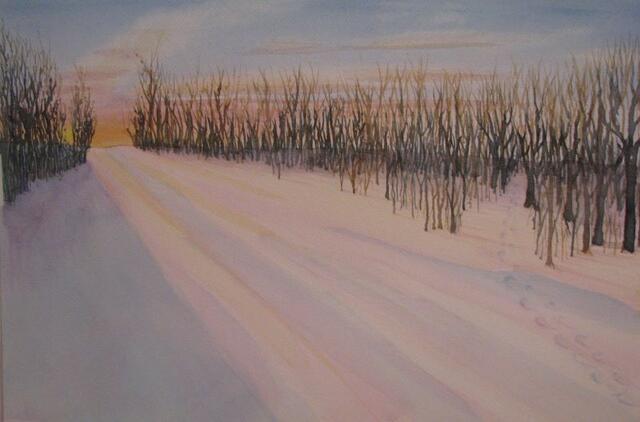 """""""Winter Glow"""" by Doug Bloom"""