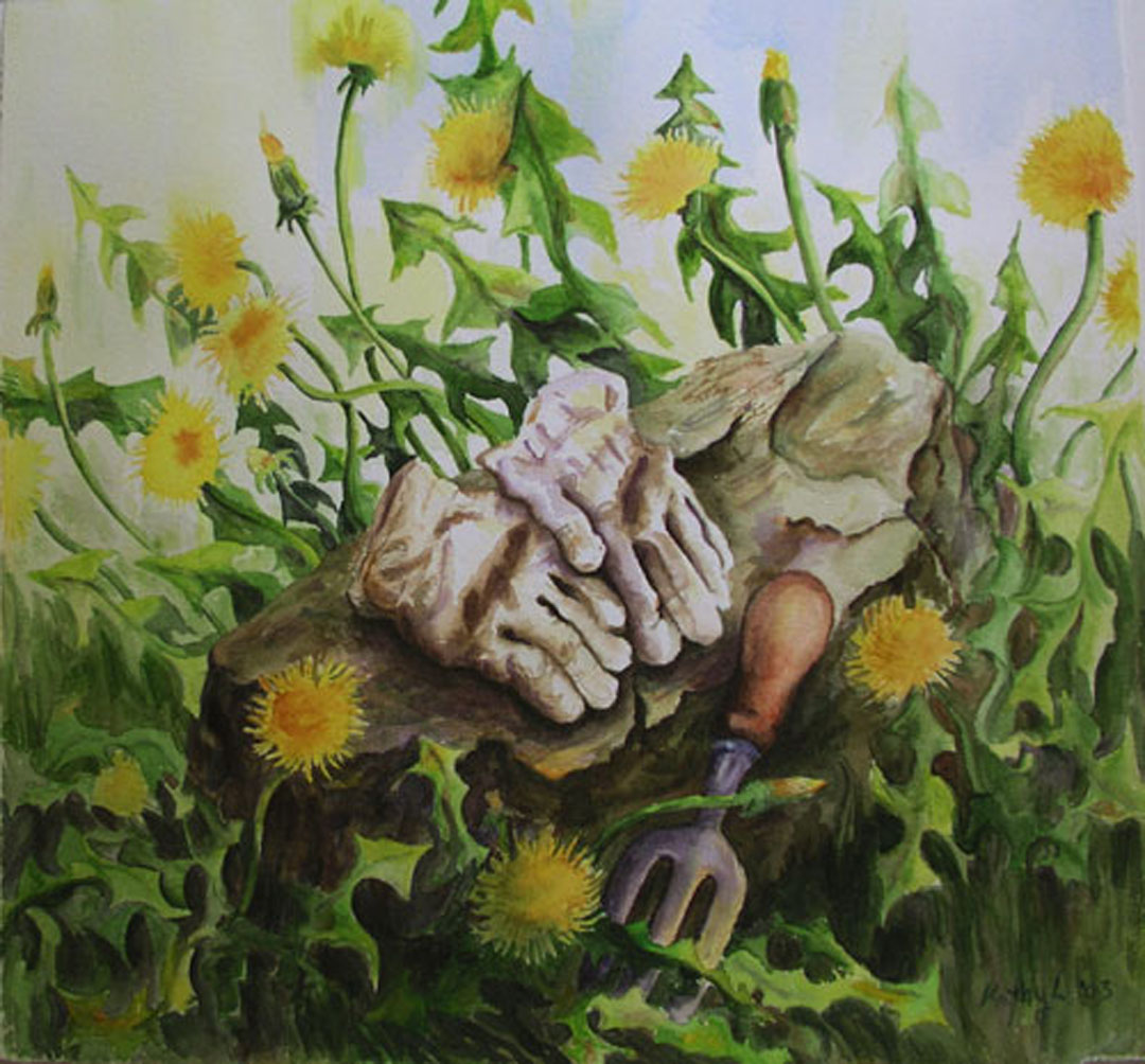 """""""Out of Hand"""" by Kathy Lindsley"""