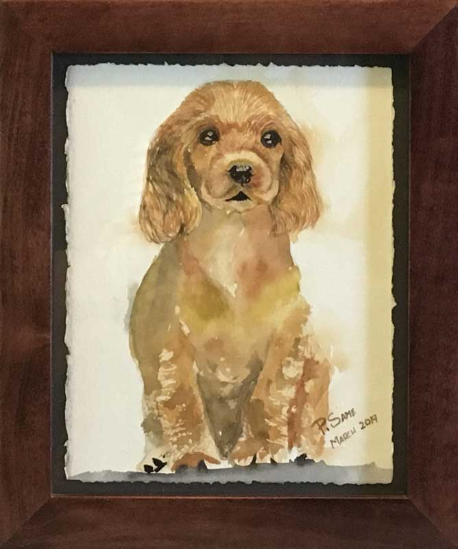 """Doggie in the Window"" by Patti Same"