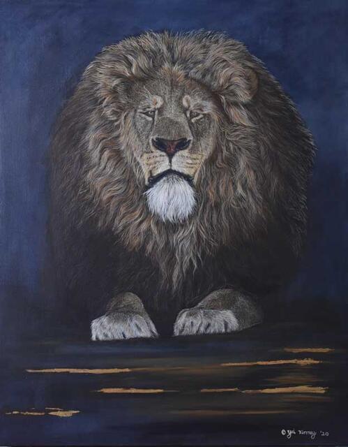 """""""Leo"""" by Yui Kinney"""