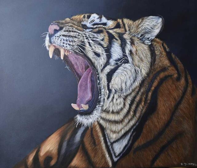 """Tiger"" by Yui Kinney"