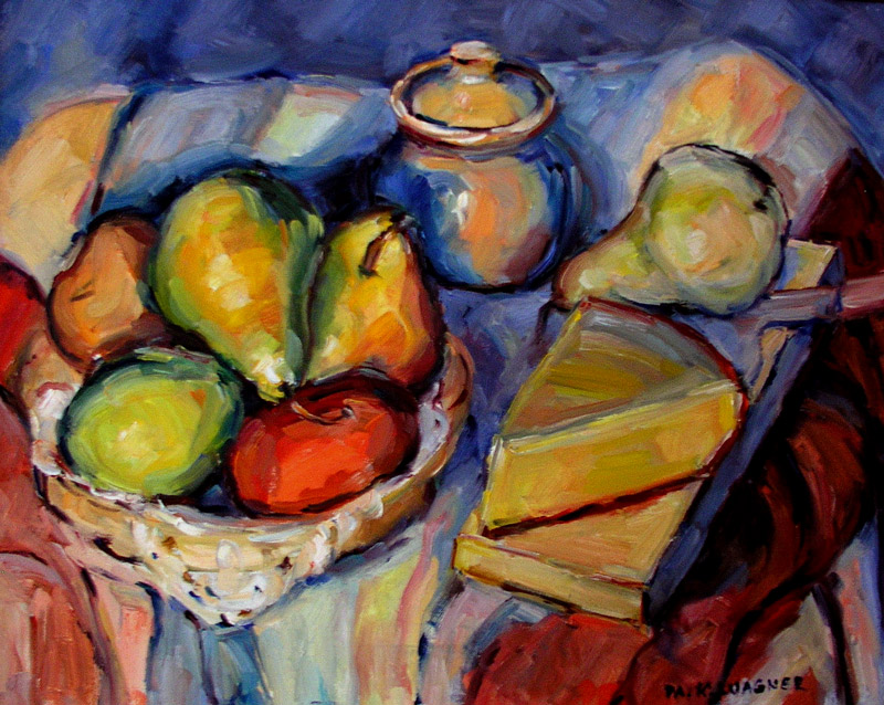 """""""Pears and Cheese"""" by M. Kathleen Wagner"""