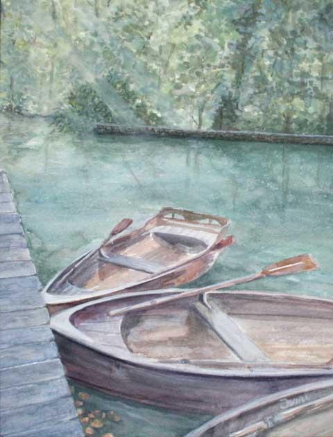 """Still Waters"" by Terri Geen"