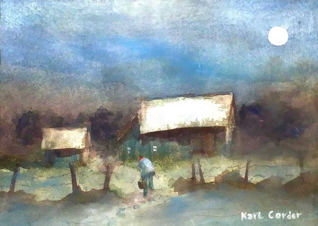 """Night Scene"" by Karl Corder"