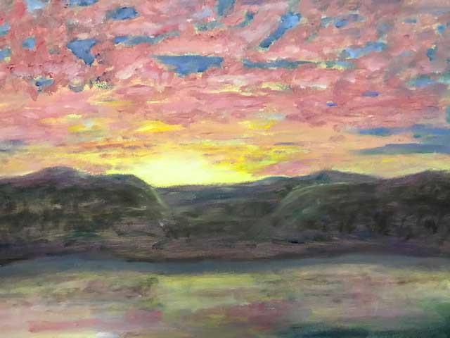 """Syracuse Sunrise"" by Barbara Rice"