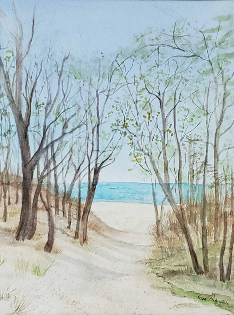 """""""Spring at Seabreeze"""" by Helga Peck"""