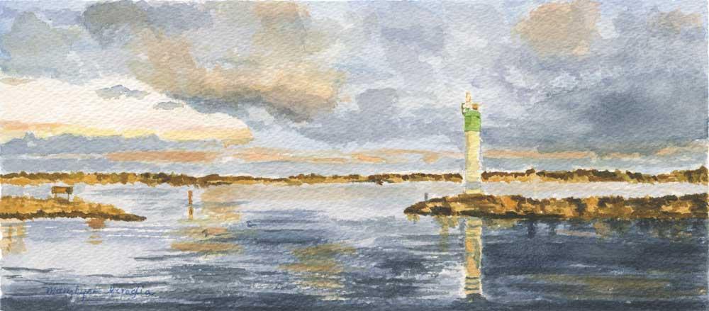 """Belleville Lighthouse"" by Mary Lynn Miraglia"