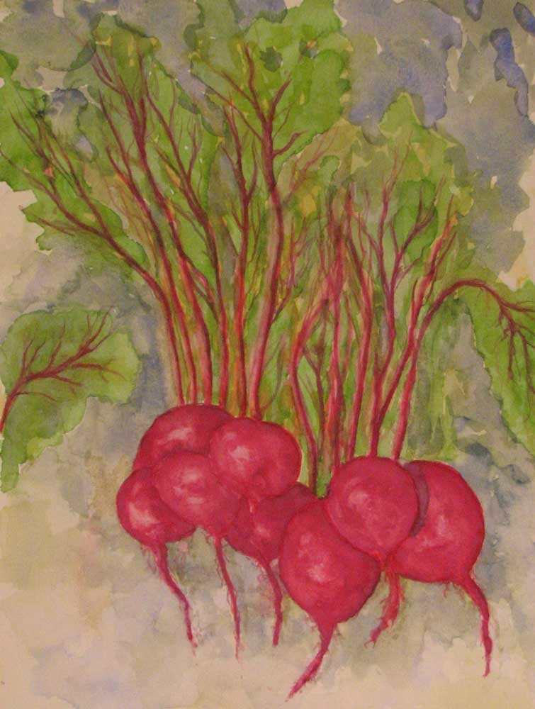 """""""Beets for Arugula"""" by Doug Bloom"""