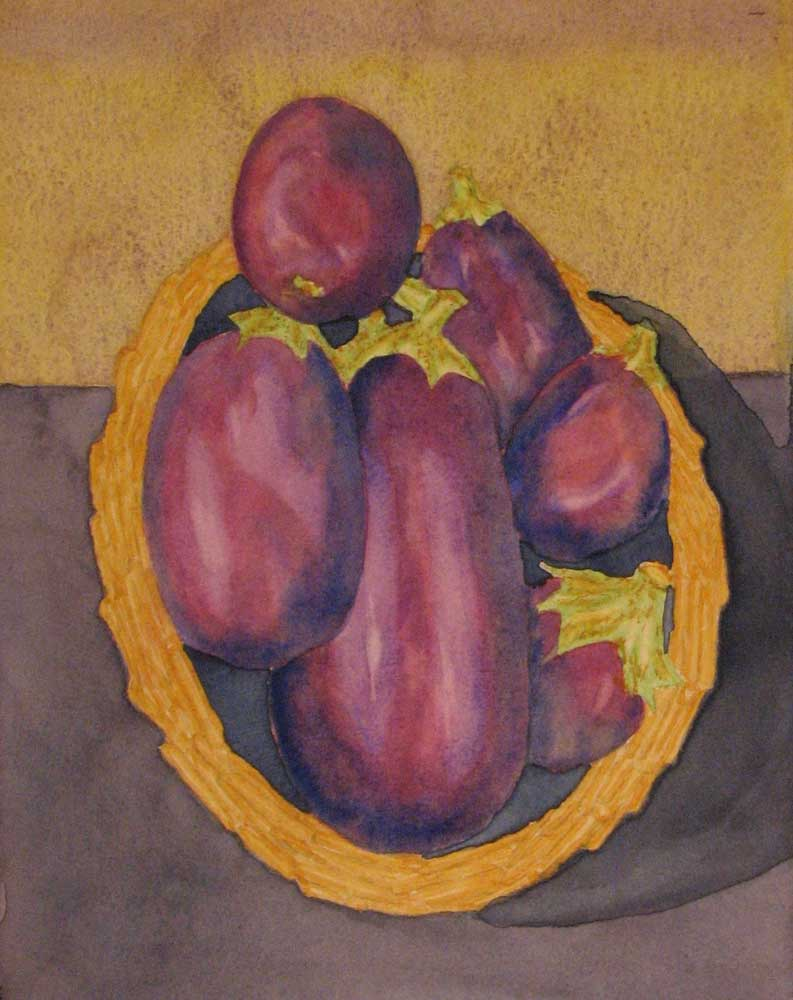 """Eggplant for Caponata"" by Doug Bloom"