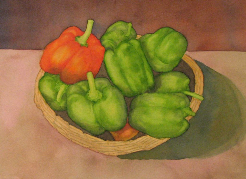 """""""Peppers for Golabki"""" by Doug Bloom"""