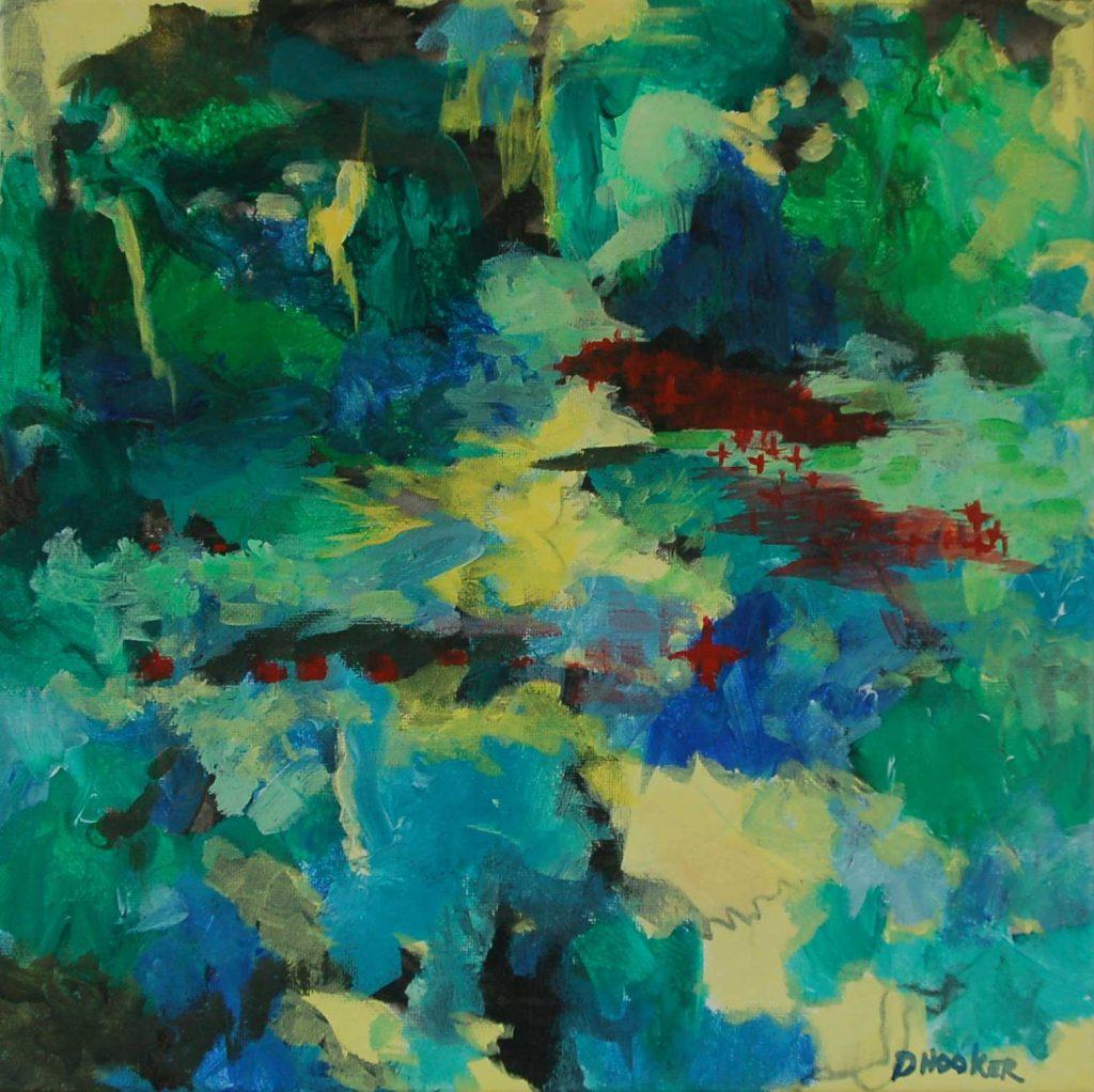 """""""Deep in the Woods"""" by Doris Hooker"""