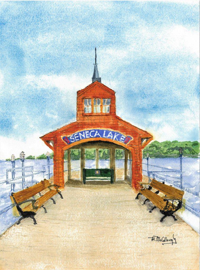 """Seneca Pier"" by Bill McCullough"