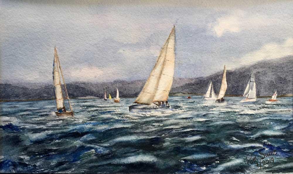 """Wind Riders"" by Patti Same"