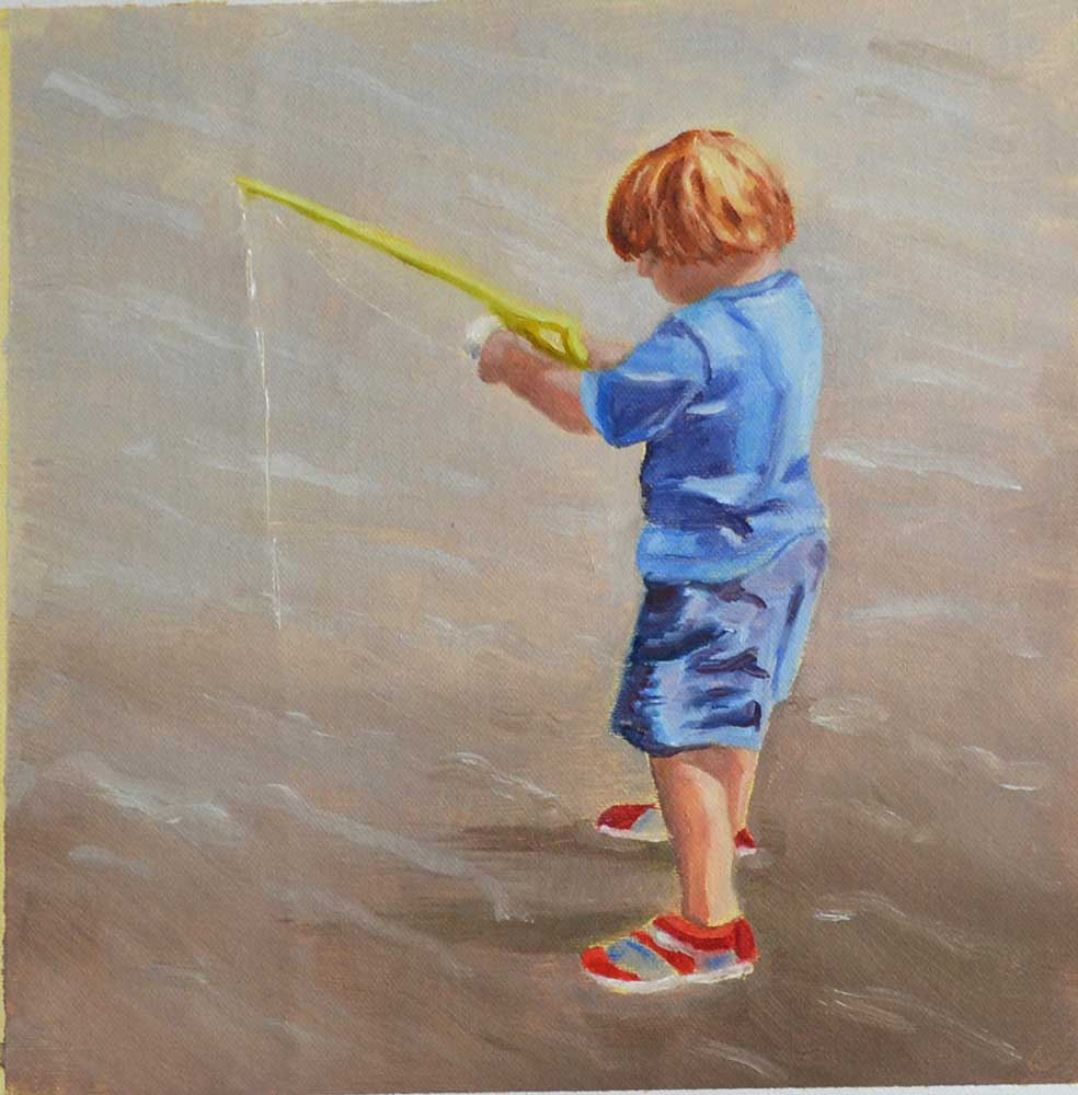 """""""Tiny Fisher"""" by Patricia Schwert"""