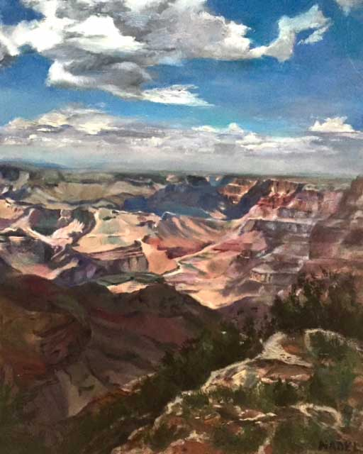 """""""Canyon View"""" by Andrea Nadel"""
