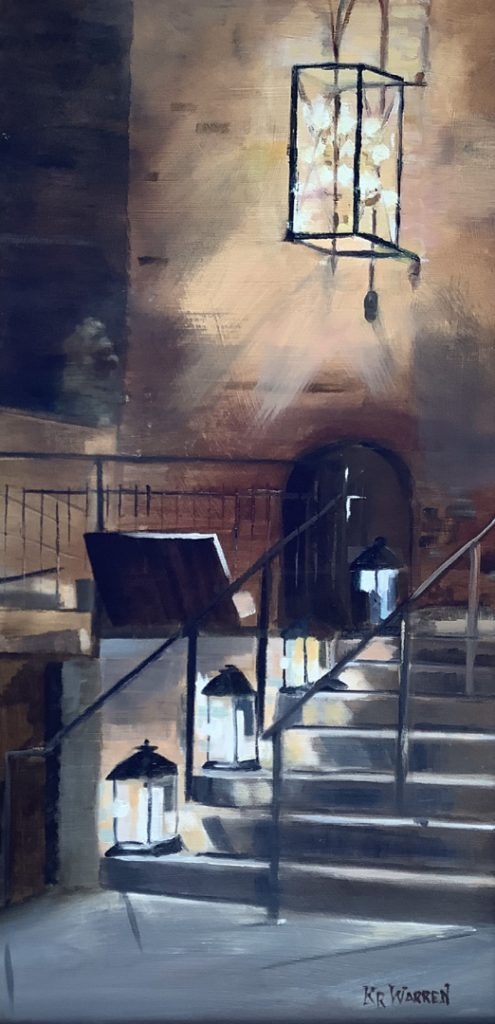 """""""Up the Stairs"""" by Kathleen Warren"""