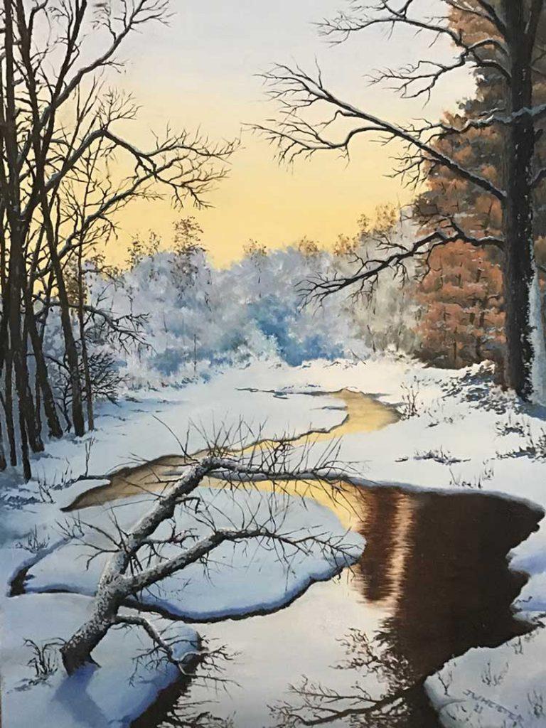 """""""Winter Sunrise"""" by John Heister"""