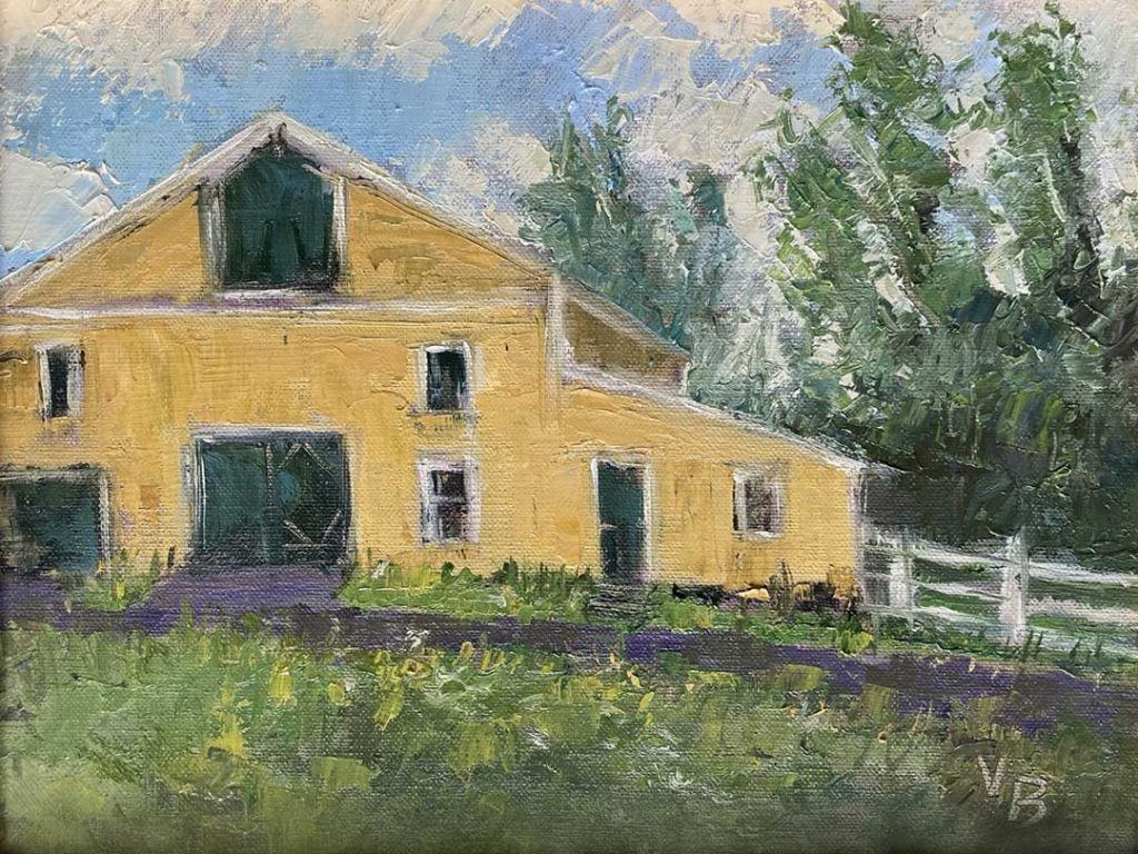 """""""Behind the Homestead"""" by Victoria Brzustowicz"""