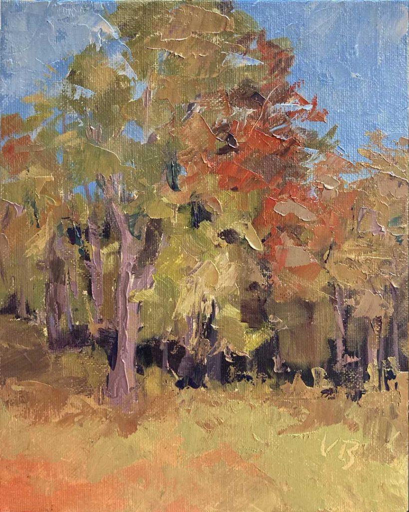 """""""Treeline"""" by Victoria Brzustowicz"""