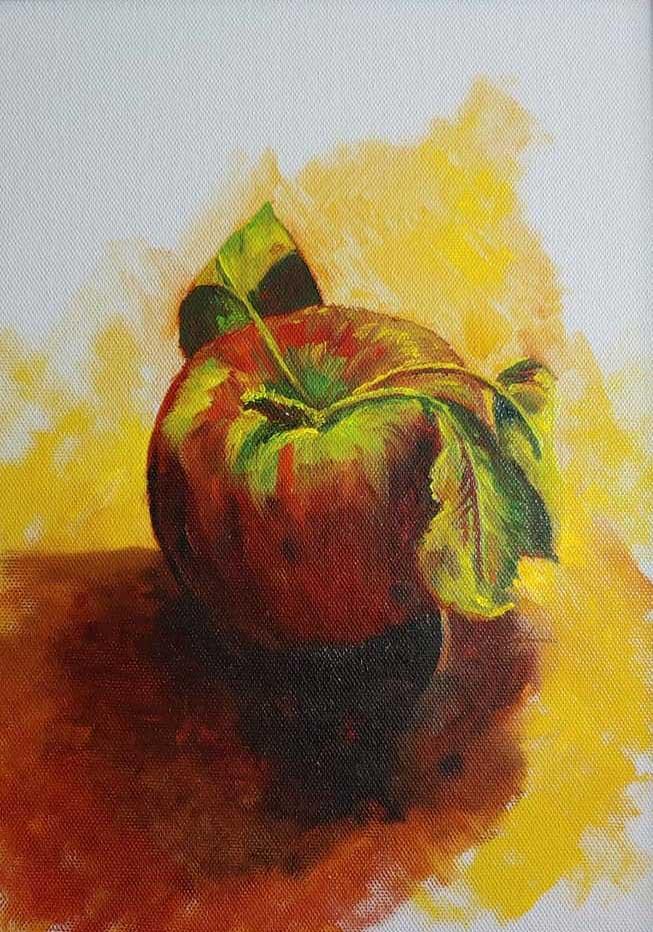 """Apple 1"" by Pat Gough"