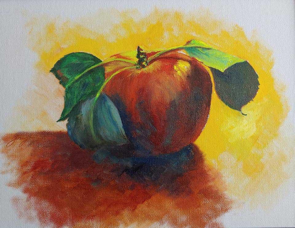 """Apple 2"" by Pat Gough"