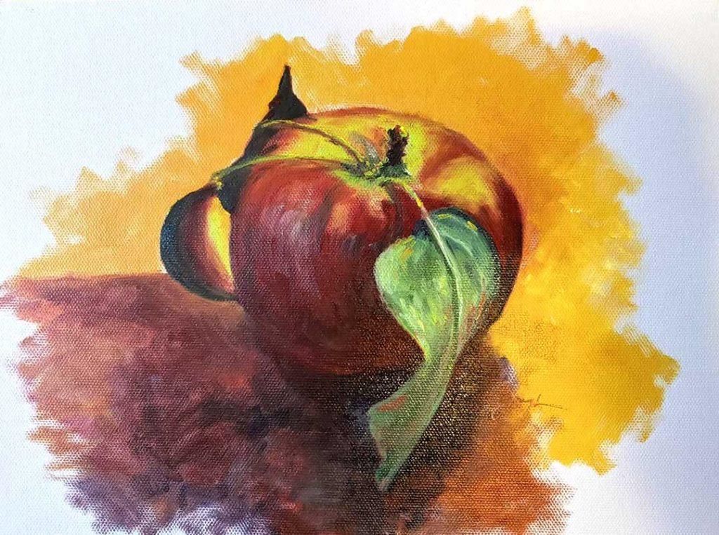 """Apple 3"" by Pat Gough"