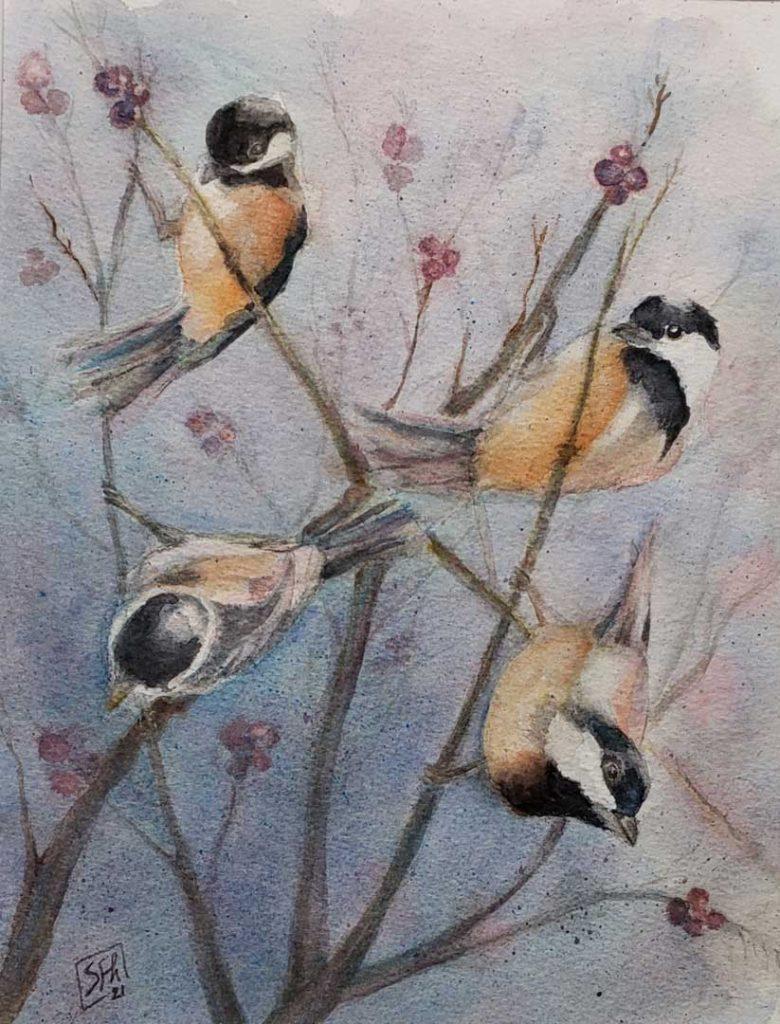 """Birds of a Feather"" by Susan Fredericks Hodes"