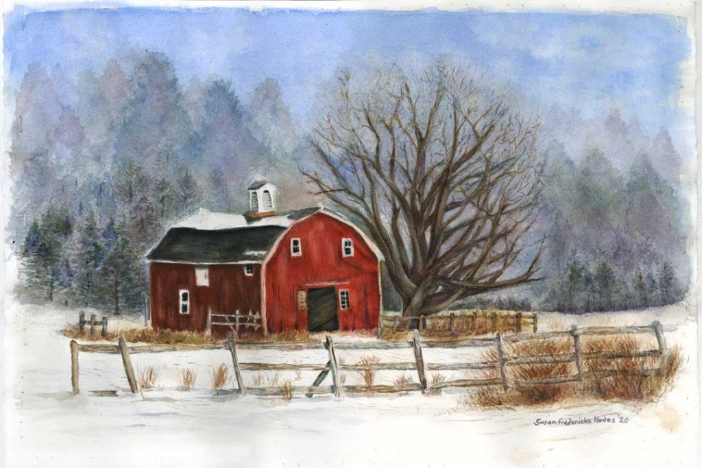 """""""Penfield Pastoral"""" by Susan Fredericks Hodes"""