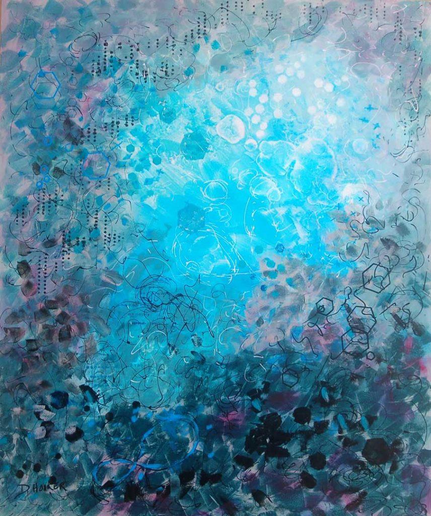 """""""Finally Seeing Blue Sky"""" by Doris Hooker"""