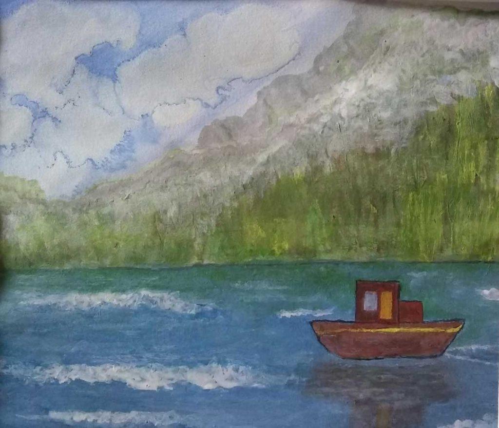 """Untitled (Boat Ride)"" by Michael Kolb"