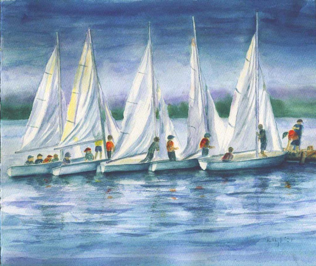 """Little Fleet"" by Kathy Lindsley"