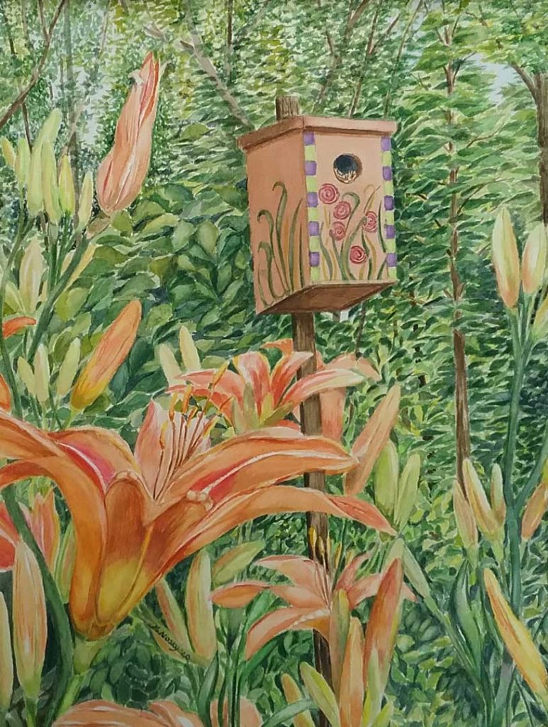 """""""Home Among the Lilies"""" by Marily Nosky"""