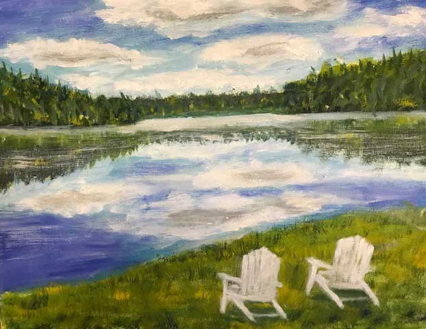 """Buehler's Pond"" by Barbara Rice"