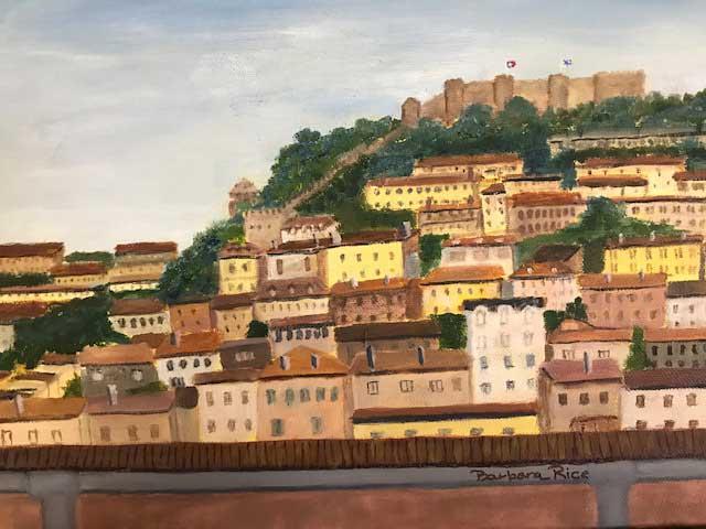 """St. George's Castle, Lisbon"" by Barbara Rice"